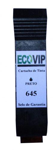 Cartucho Para Impressora Hp Deskjet 720c / 820c - Hp 45 645 51645 Compatível Novo - Ecovip