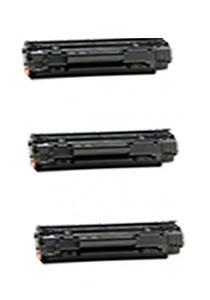 Combo Promocional 3 Toners Hp Cb436a Compatível Ecovip