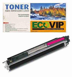 Toner Hp Ce 313/126 Magenta Compatível Ecovip