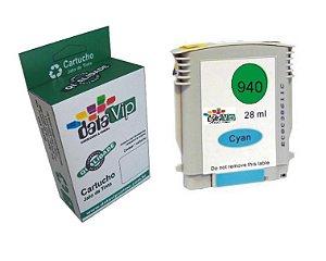 Cartucho Hp 940 Xl Cyan Compatível Datavip