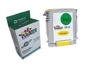 Cartucho Hp 940 Xl Yellow Compatível Datavip