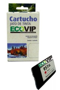 Cartucho Hp 951 Xl Magenta Compatível Ecovip