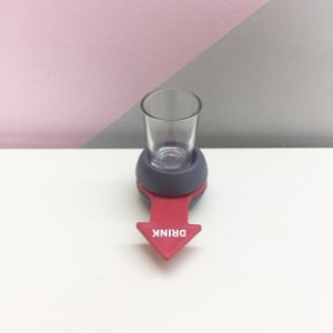 Jogo Bebida Roleta Drinks Shot Com Copo