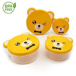 Pote Bicho BPA Free - 4pç