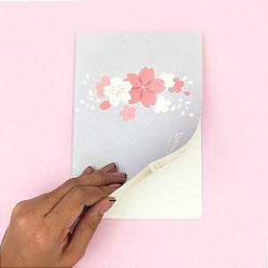 Caderno A5 Flor de Cerejeira