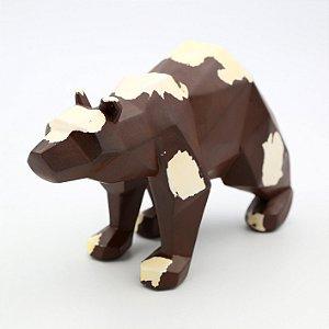 Urso Geométrico Decorativo