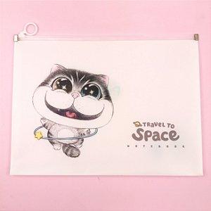 Pasta Ziplock Astronauta Pet