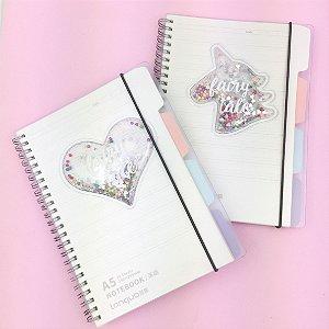Caderno Agenda A5 Fairy Tale