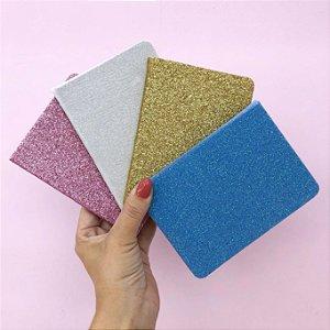 Caderno Mini Glitter
