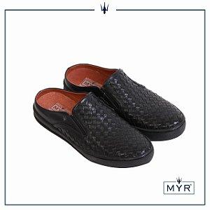 Mule tresse MYR - Preto
