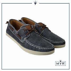 Dockside MYR - Camurça resinado cinza