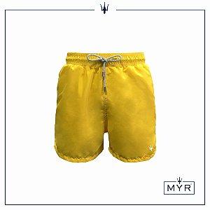 Short curto - Amarelo