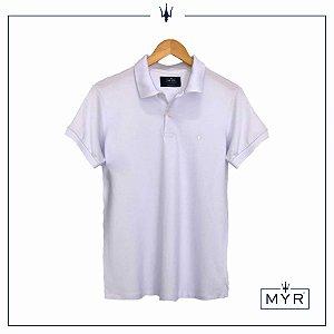 Camiseta Polo - Branca