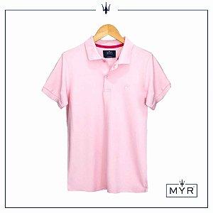 Camiseta Polo - Rosa