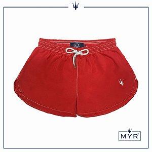 Short feminino - Vermelho