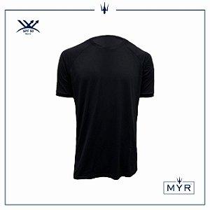 Camiseta UVSKIN preta run