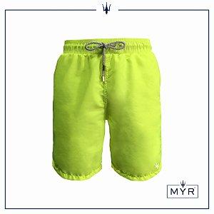 Short Comprido - Amarelo Neon