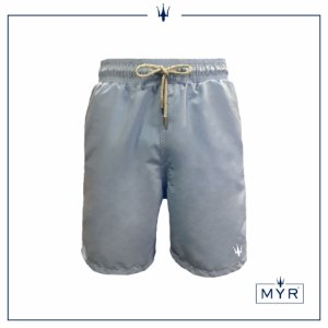 Short Comprido - Azul light