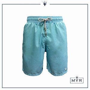 Short Comprido - Azul Claro