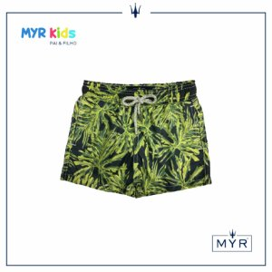 Short Infantil - Yellow Leaf