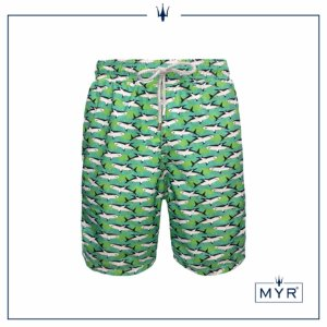 Short Comprido Est. - Green Shark
