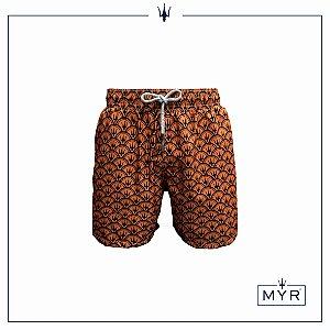 Short curto est. - MYR Orange