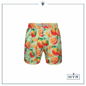 Short curto est. - Orange