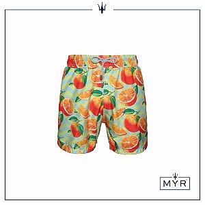 Short curto est. - Orange
