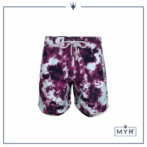 Short curto est. - Tie Dye Purple