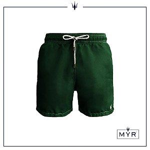Short curto - Verde musgo