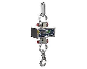 Balança Suspensa / Dinamômetro Digital PR30 LIDER em Inox capacidade 100kg a 50000kg