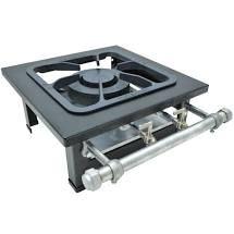 Fogão Industrial de mesa 1 Boca Metalmaq - 30x30