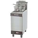 Fritadeira Industrial a Gás 2 Cestos Metalcubas 30 Litros