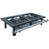 Fogão Industrial de mesa 2 Bocas Metalmaq - 30x30