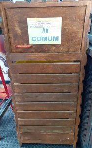 Lixeira de madeira do tipo Fast Food (Usada)