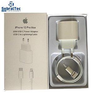 Carregador De iPhone Tipo C Lightning 20W Para iPhone 12 Pro Max