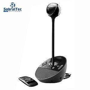 Webcam Logitech Para Videoconferência Full Hd 1080p Usb Bcc950