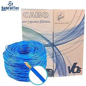 Caixa Cabo De Rede Mk2 V06 Tecno 23AWG UTP Cat5E Azul
