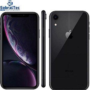 "iPhone XR Apple 64GB Preto Tela Liquid Retina HD de 6.1"", iOS, Câmera Traseira 12MP MH6M3BR/A"