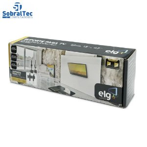 Suporte Fixo Inclinável Tv 15 a 42 EM03V2 - ELG