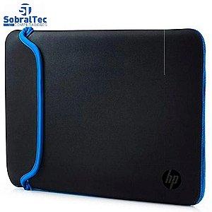 "Capa para Notebook Sleeve 14"" Preto / Azul HP"