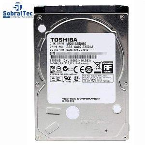 Hd Int. Notebook Toshiba 500 Gb 5400 Rpm 8mb MQ01ACD050