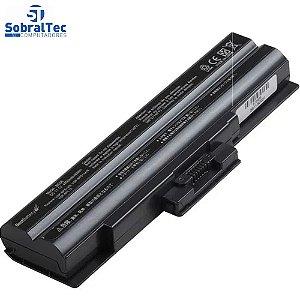 Bateria Notebook Sony Vaio Bps13 -6 Celulas - Preto - 10.8V