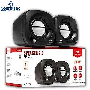 Caixa de Som Speaker 2.0 Sp-303