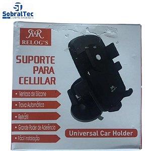 Suporte Para Celular Universal Car Holder Para Carro Relog's - RJ-15