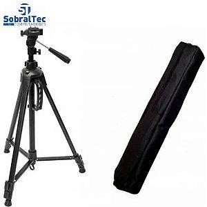 Tripé Para Câmera e Ring Light - KP-SP002
