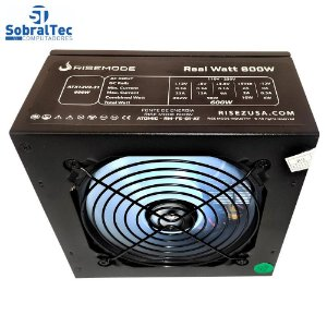 Fonte Gamer ATX Rise Mode Atomic 600W Real RM FE 04 AT