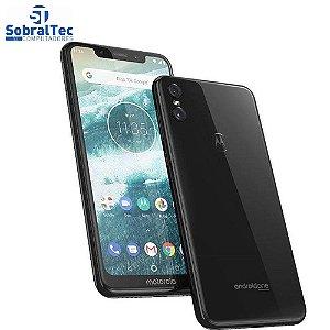 Smartphone Motorola One 64GB Dual Chip Android Oreo 8.1 Tela 5.9 2.0 Octa-Core 4G Câmera 13+2MP Preto