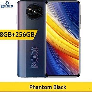 Smartphone Xiaomi Poco X3 Pro Versão Global Dual sim 256GB 8GB ram - Preto