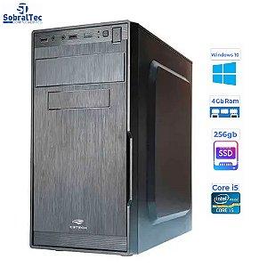 Computador Core i5 3570 3.40Ghz -TG-H61-S -HD SSD 256GB Memória Ram 4 Gb Windows 10